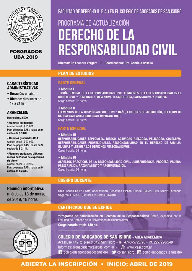 Actualización Responsabilidad Civil
