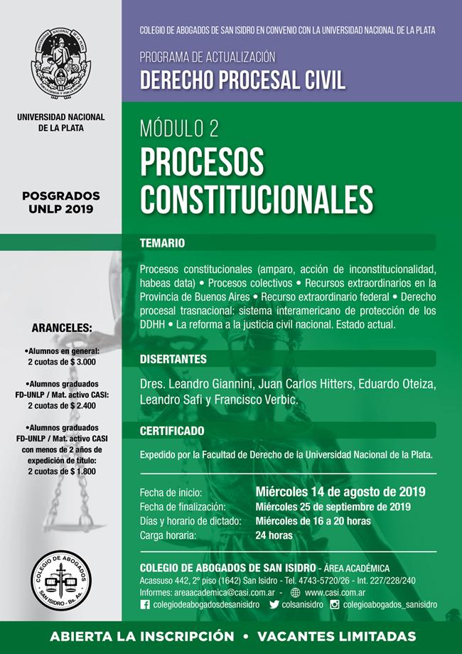 Procesos Constitucionales. Módulo