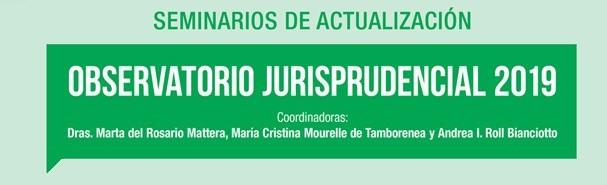 Observatorio jurisprudencial 2019