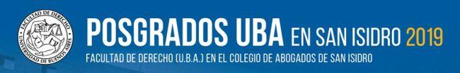 Posgrados UBA en San Isidro 2019
